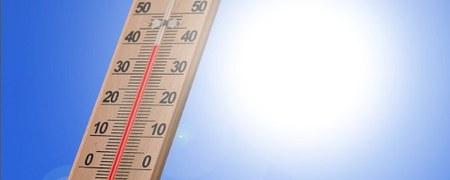 Avertissement « Forte chaleur et pics d'Ozone »