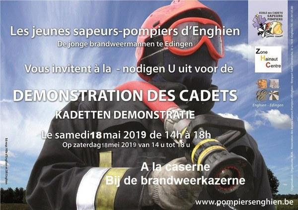 2019 05 18 Affiche démo Cadets Enghien