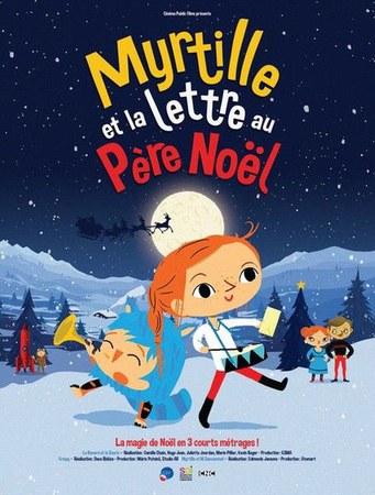 CinéClub jeune « Myrtille et la lettre au Père Noël »