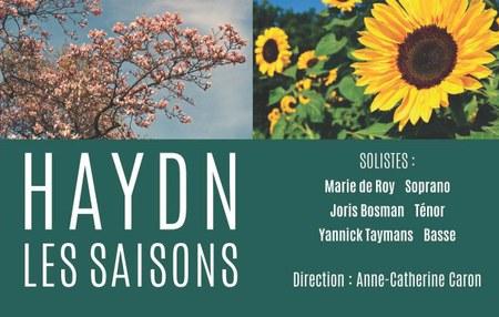 CONCERT « LES SAISONS » de Joseph Haydn - *Reporté*