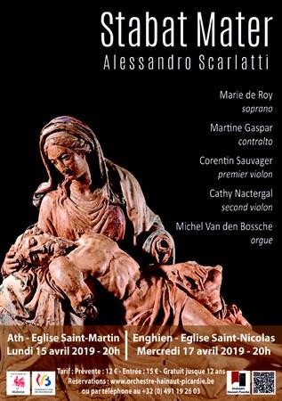 Concert Stabat Mater d'Alessandro Scarlatti