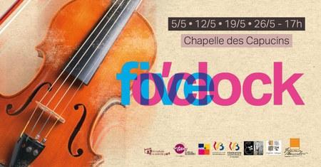 Concerts  Five O'clock - Les dimanches de Mai
