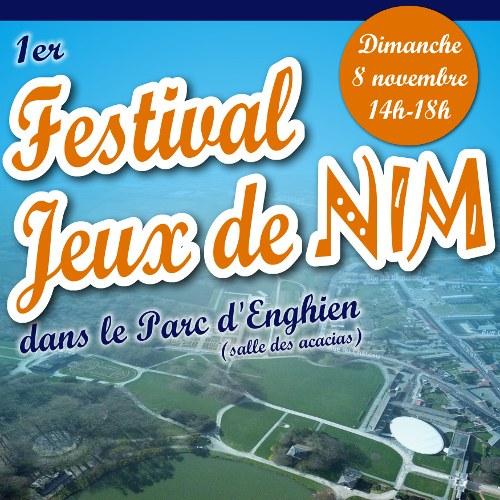 AFFICHE   Festival Jeux de NIM   2015 11 08 carré