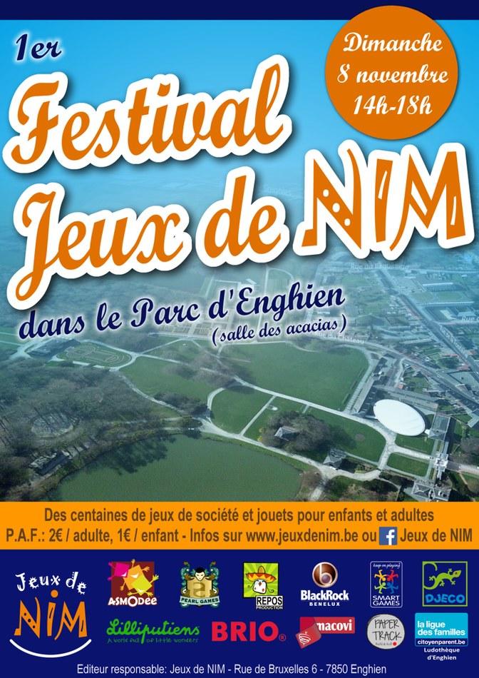 AFFICHE   Festival Jeux de NIM   2015 11 08 light