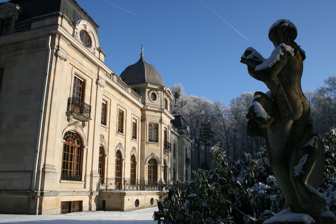 Château en hiver 01