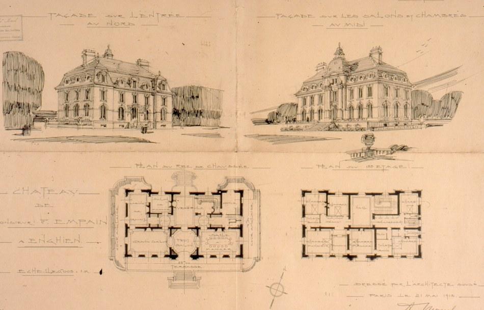 Parc   Plan château