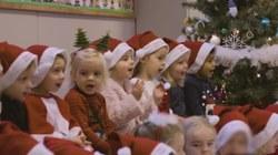 Comme chaque année pour les fêtes, 🎶 toute l'école de Marcq chante
