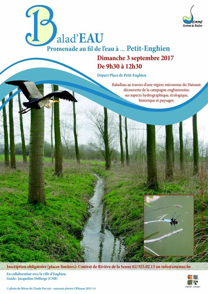 Invitation Balad eau Petit Enghien