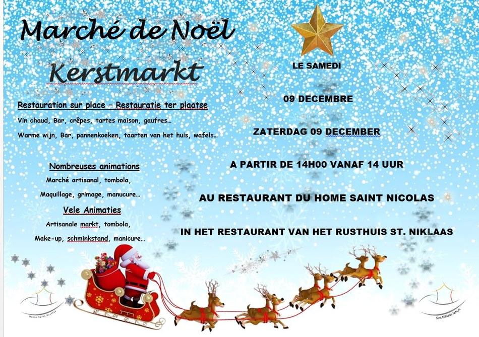 Capture affiche pub marché de Noël