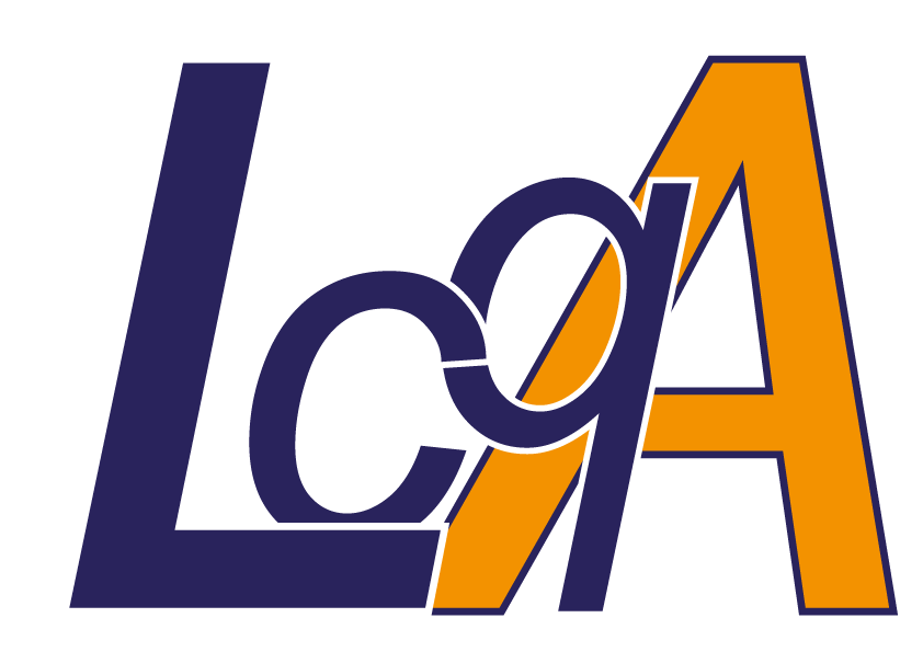 logo LcqA texte seul fond blanc